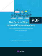 The Cure to What Ails Internal Communications