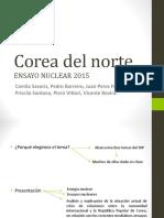 Power Point Trabajo Corea del Norte Derecho Nuclear