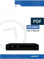 Humax Dvr-9900c Manual