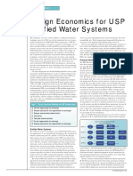 Desing Economics for USP Purified Water Systems