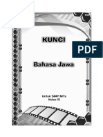 Kunci Bhs Jawa 9