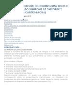 Síndrome de Deleción Del Cromosoma 22q11