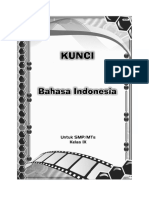 Kunci Bhs Indonesia 9