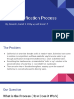 process of water purification