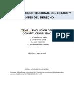 Evolucion Constitucionalismo  - Pompeu Fabra