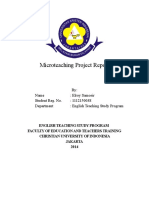 Microteaching Project Report