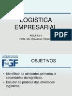Logistica Empresarial Aula 3 e 4