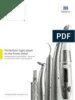 Brochure Handpieces Instruments