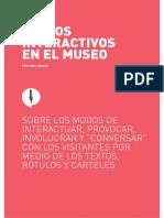 Textos Interactivos en El Museo