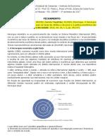 FICHAMENTO - De CONTI PRATES PLIHON - 2014 - A Hierarquia Monetária e Suas Implicações Para as Taxas de Câmbio e de Juros e a Política Econômica Dos Países Periféricos