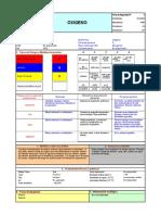 FDS 005 Oxígeno