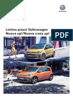 Listino Prezzi Volkswagen Up!