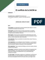 El Universal - DF - Entérate_ El Conflicto de La UACM en Datos