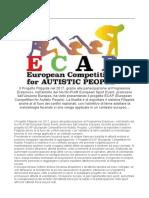 Progetto ECAP Presentazione Comune Di Livorno