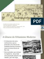 Aula07-Pré-urbanismo Progressista e Culturalista