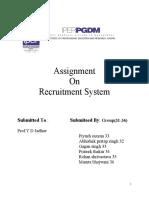 Gagan Recruitment project