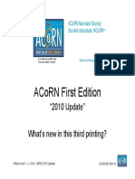 Whats New-ACoRN Third Printing-2010 Update
