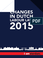 Changes Dutch Labour Law 2015