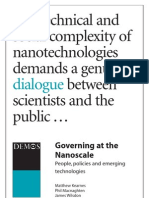 Governing at the Nanoscale