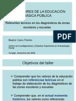 Los Valores de La Educ. Basica