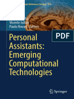 Personal Assistants Emerging Computational Technologies