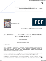 Psicologia y Accidente Laboral