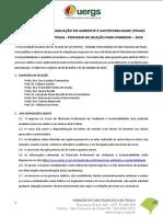 04085004 Edital Mestrado Ambiente Sustentabilidade Ingresso 2018