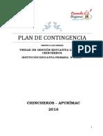 Plan 3 de Contingencia Sismo