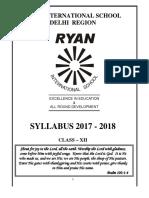 Class-XII Syllabus 2017-18 -3