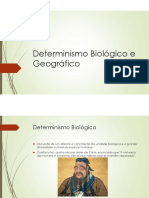 Microsoft PowerPoint - Determinismo Biológico e Geográfico