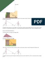 Evaluacion de Matematica 2014