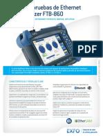EXFO Spec-sheet FTB-860 Esp
