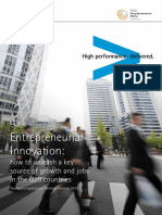 Accenture Entrepreneurial InnovationSURVEY
