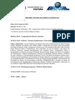 Seminario Racismo Programacao - PROGRAMAÇÃO FINAL 16.08.2017
