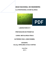 Informe N°1 Metalurgia fisica PDF