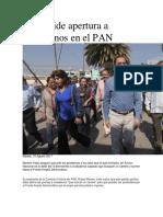 15.08.17 RMV Pide Apertura a Ciudadanos en El PAN