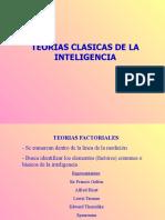 Teorías Clásicas de La Inteligencia