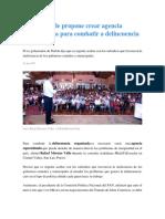 24.08.17 Moreno Valle propone crear agencia especializada para combatir a delincuencia organizada