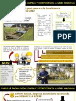 2 Propuestas de Tec. Limpias y Ecoeficiencia a Nivel Nacional