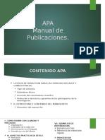 APA Taller.