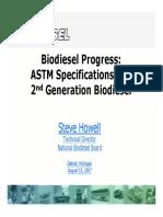 2nd Generation Biodiesel