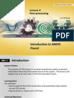 Fluent-Intro 14.5 L04 PostProcessing