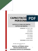 HIPOGLICEMIA Y SEPSIS NEONATAL