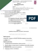 Modulo 2. Metabolismo y Heterotrofia Anaerobia Febrero Junio 2017