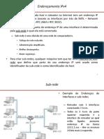 Ipv4 e Sub Redes