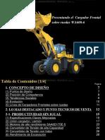 Curso Cargador Frontal Wa600 6 Estructura Rendimiento Motor Sistemas Componentes Tecnologia Mantenimiento Cucharon