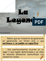Material Apoyo Clase de Lenguaje. Leyenda y Mito