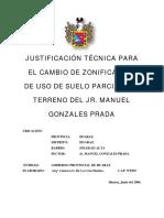 Justificacion Tecnica M Gonzales