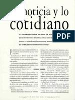 La Noticia y Lo Cotidiano - Eliana Rozas
