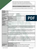 Estructura Mantenimiento e Instalacion de Sistemas Solares Fotovoltaicos